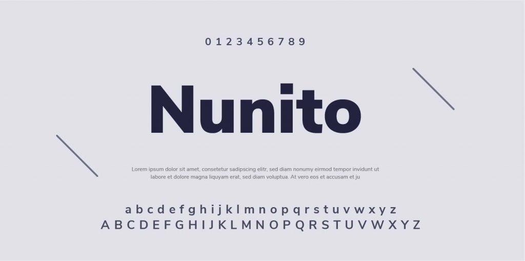 Google Font-Nunito