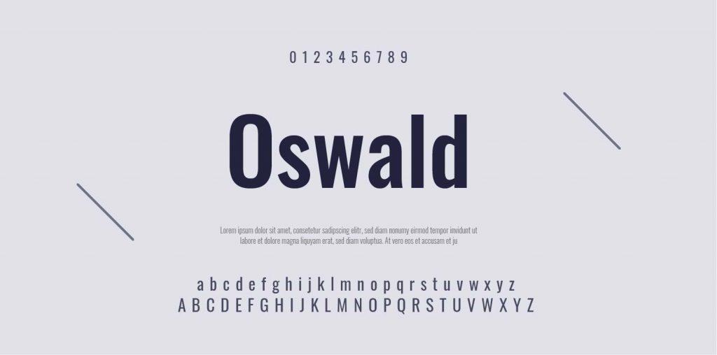 Google Font-Oswald-06