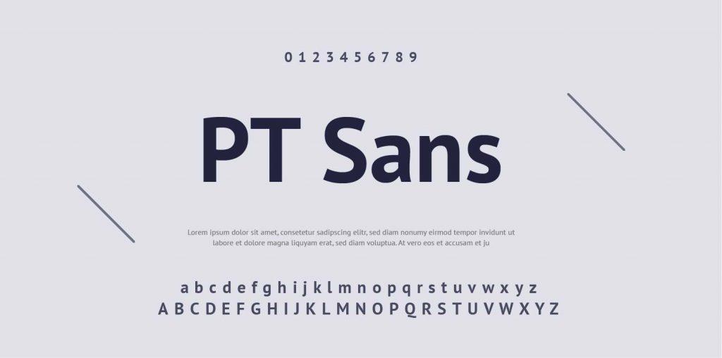 Google Font-PT Sans