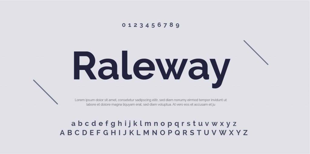 Google Font-Raleway