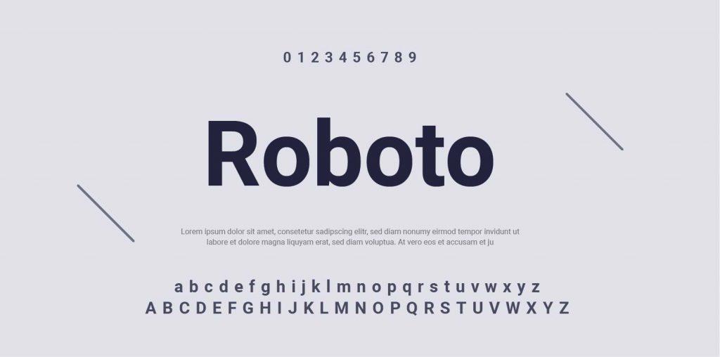 Google Font-Roboto-10
