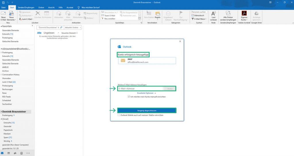 Outlook 2019 Imap 01
