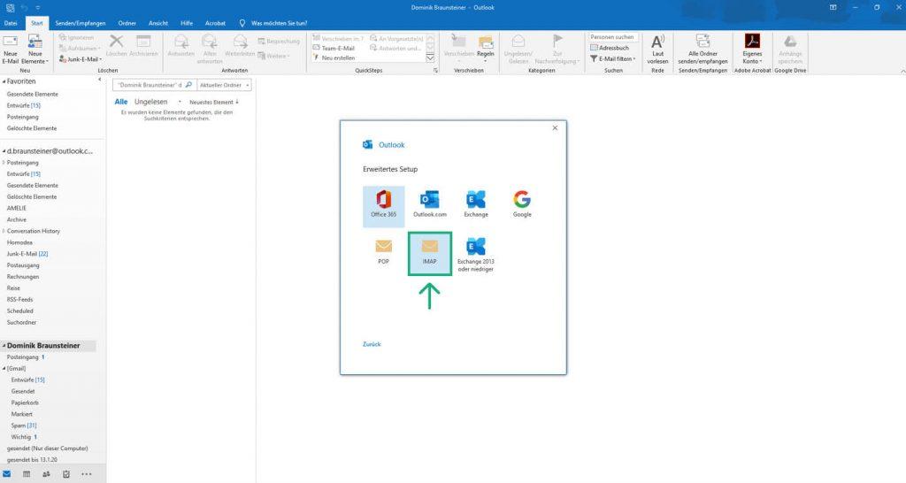 Outlook 2019 Imap 3