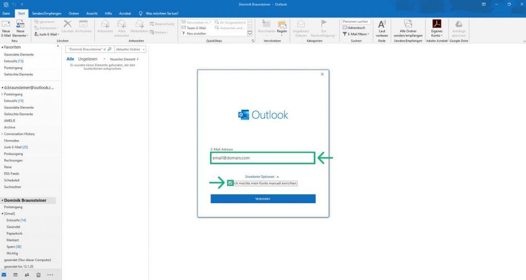 Outlook 2019 Imap 5