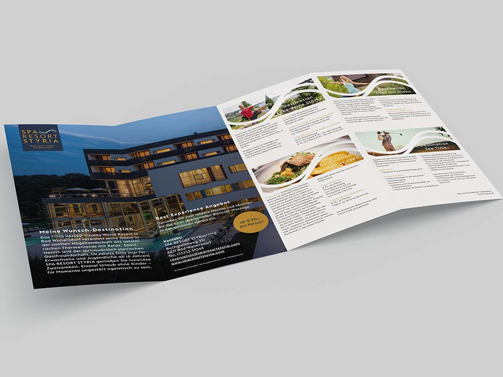 Spa Resort Styria Postwurfsendung