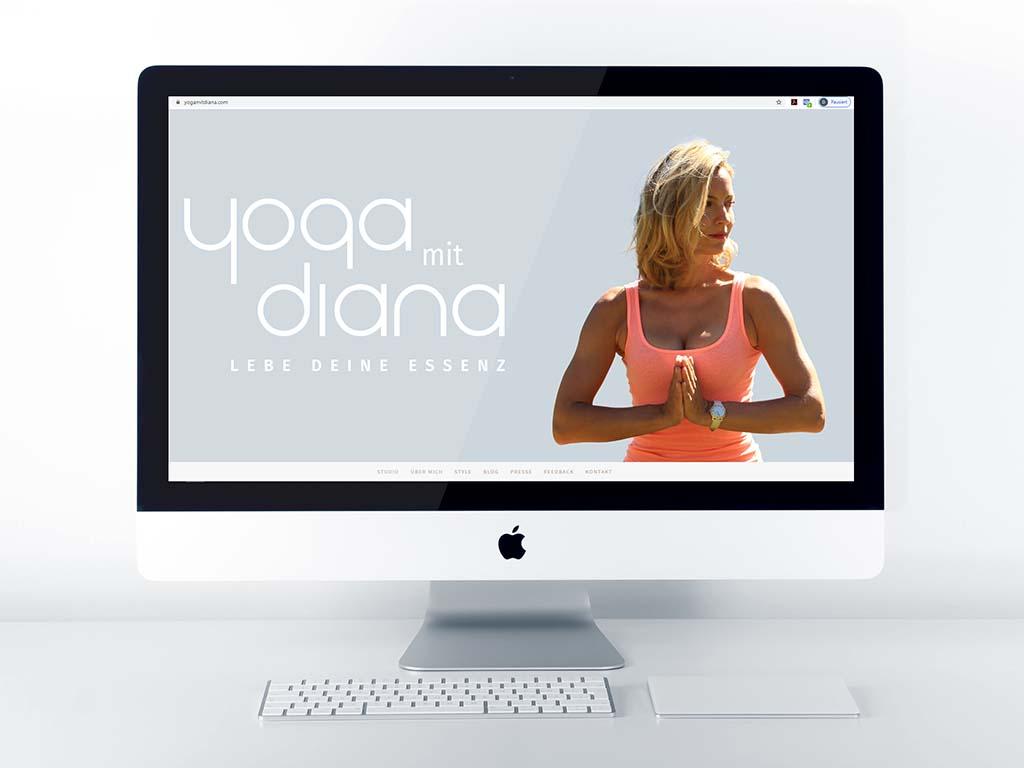 Yoga mit DIana Portfolio
